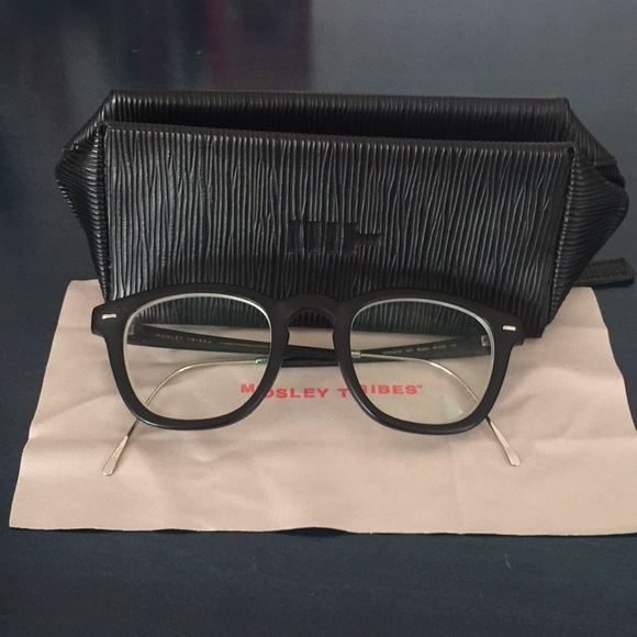 9f4ce409fc Mosley Tribes Accessories - Mosley Tribes Bryson Matte Black Glasses